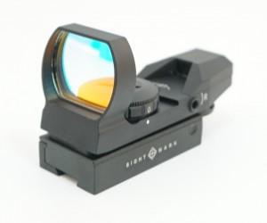 Коллиматорный прицел Sightmark Sure Shot, панорамный, 4 марки, 7 ур., на 11 мм (SM13003B-DT)