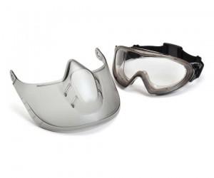 Очки-маска тактическая Pyramex Capstone Shield G504TSHIELD, прозрачные линзы