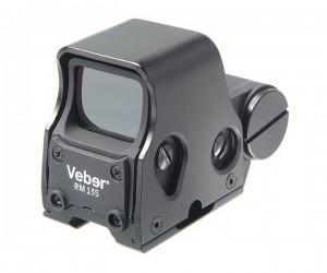 Коллиматорный прицел Veber RM135 Weaver