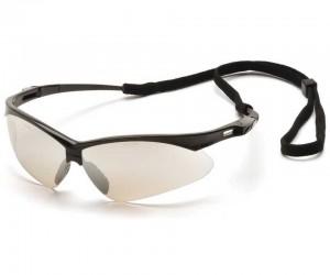 Очки стрелковые Pyramex PMXTREME SB6380SP, зеркально-серые линзы