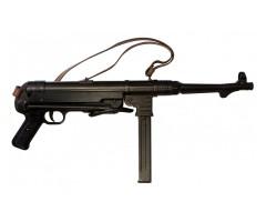 Макет автомат MP-40 «Шмайссер», с ремнем (Германия, 1940 г., 2-я Мир.война) DE-1111-C