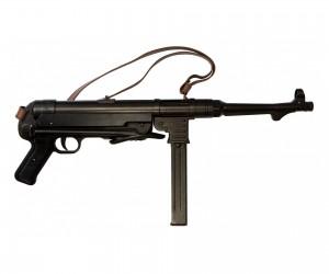 Макет автомат MP-40 «Шмайссер», с ремнем (Германия, 1940 г.) DE-1111-C
