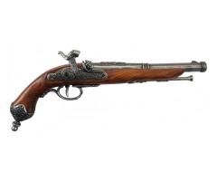Макет пистолет кремневый Бресция, сталь (Италия, 1825 г.) DE-1013-G