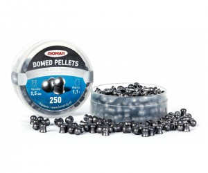 Пули «Люман» Domed Pellets 5,5 мм, 1,1 г (250 штук)
