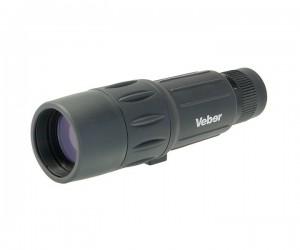 Монокуляр Veber 10-25x42 WP черный