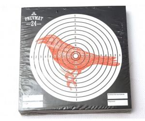 Мишени для пневматики P24 «Ворона», 140x140 мм (50 штук)