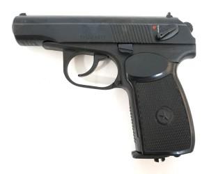 Пневматический пистолет Baikal МР-654К (ПМ, черная рукоять)
