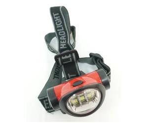 Налобный фонарь FL060 6 LED, 3 режима