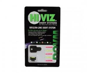 """Оптоволоконная мушка HiViz DOVM-500 для карабинов с планкой  9,5 мм (3/8"""") высота 12,7 мм (500"""")"""