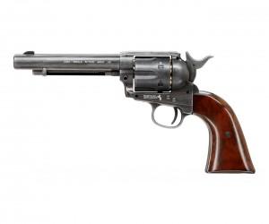 """Пневматический револьвер Umarex Colt Single Action Army (SAA) .45 Antique, пулевой (5,5"""")"""