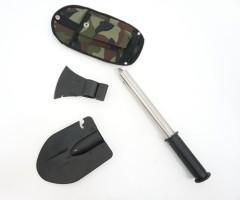 Набор походный в чехле (лопата, топор, пила, штык-нож) BH-TC02