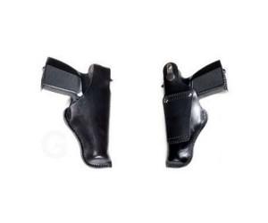 Кобурапоясная Vektor из нат. кожи для ношения на ремне шириной до 5 см (14-1)