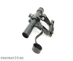 Оптический прицел Combat 4x26, боковое крепление на СКС/Тигр
