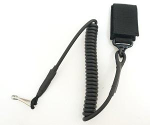 Шнур страховочный – пистолетный тренчик Black (PB007B)