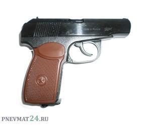 Пневматический пистолет Baikal МР-654К ПММ