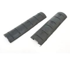 Комплект резиновых накладок на Weaver/Picatinny, 2 штуки (BH-MR30)