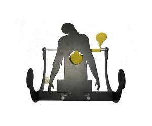 Мишень металлическая «Зомби» Revolving target