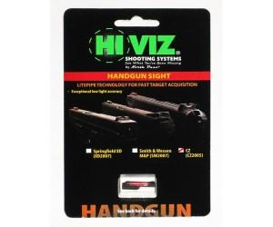 Оптоволоконная мушка HiViz CZ2005-R, для пистолетов, красная
