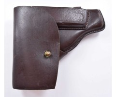 Кобура штатная для ПМ темно-коричневая, кожа, 1980-2004 гг.