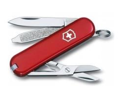 Нож-брелок Victorinox Classic SD 0.6223 (58 мм, красный)