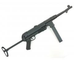 Страйкбольный пистолет-пулемет AGM MP-40 Black (MP007B)