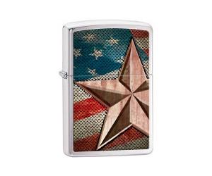 Зажигалка Zippo 28653 Retro Star