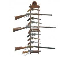 Стенд настенный для ружей, на 12 единиц (DE-9990)