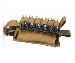 Подсумок Wartech MP-115 для 12 калибра, липучка (койот)