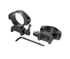 Кольца для прицела Veber E 3021 H Weaver быстросъемные