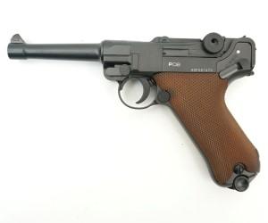 Пневматический пистолет Gletcher P08 (Parabellum)