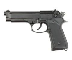 Страйкбольный пистолет ASG Beretta M9 HW Blowback green gas (11112)