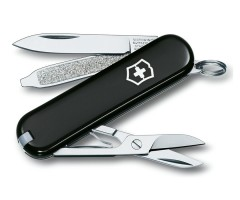 Нож-брелок Victorinox Classic SD 0.6223.3 (58 мм, черный)