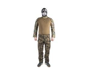 Форма компл. Combat shirt+штаны Digital Woodland XXL