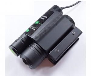 Подствольный фонарь с ЛЦУ большим (зеленый) P24-0308