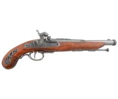Макет пистолет кремневый, сталь (Франция, 1872 г.) DE-1014-G