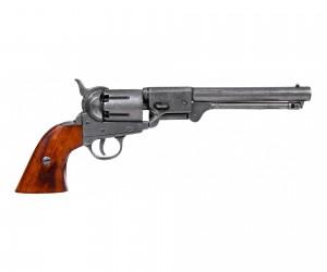 Макет револьвер Colt Navy, сталь (США, 1851 г.) DE-1083-G