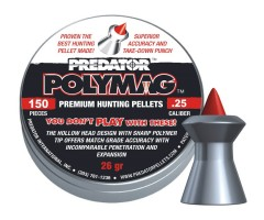 Пули JSB Predator Polymag 6,35 мм, 1,68 грамм, 150 штук