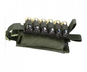 Подсумок Wartech MP-115 для 12 калибра, липучка (олива)