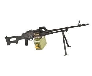 Страйкбольный пулемет A&K ПКМ, с пластиковой фурнитурой (PKM)