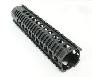"""Цевье T-Serie M4/AR15/M16, круглые отверстия, длина 10"""" / 254 мм (BH-MR38)"""
