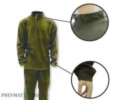 Костюм флисовый Remington (зеленый, без капюшона, 2 слой)