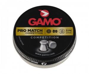 Пули Gamo Pro Match 4,5 мм, 0,49 грамм, 250 штук