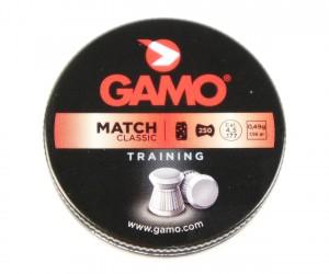 Пули Gamo Match 4,5 мм, 0,49 грамм, 250 штук