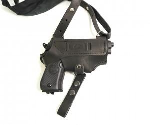 Кобура оперативная универсальная CP (нат. кожа) черная