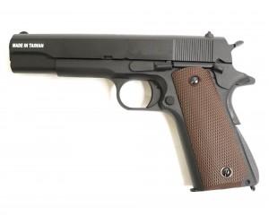 Страйкбольный пистолет KJW Colt M1911A1 Gas GBB (1911.GAS)
