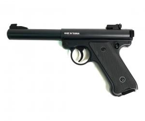 Страйкбольный пистолет KJW Ruger MK1 Black Gas GNB
