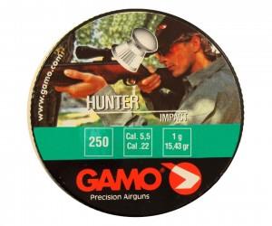 Пули Gamo Hunter 5,5 мм, 1 грамм, 250 штук
