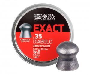 Пули JSB Exact Diabolo 9,0 мм, 5,25 грамм, 100 штук