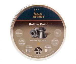 Пули H&N Hollow Point 5,5 мм, 0,82 грамм, 200 штук