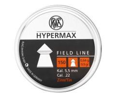 Пули RWS Hypermax 5,5 мм, 0,64 грамм, 150 штук